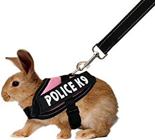 Vehomy Small Animals Halloween Harness Leash Costume Rabbit Small Pet Bat Wings Apparel for Bunny, Rabbits, Puppies, and Small Cats