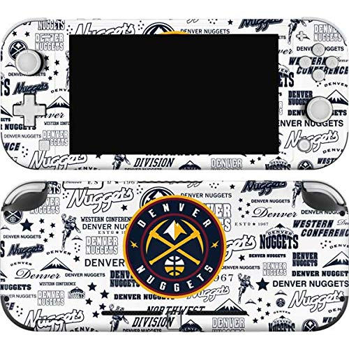 Skinit Decal Gaming Skin Compatible with Nintendo Switch Lite - Officially Licensed NBA Denver Nuggets Historic Blast Design
