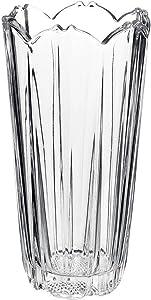 Bormioli Rocco - Florero de vidrio transparente, resistente, para decoración del hogar, de boda , redondo