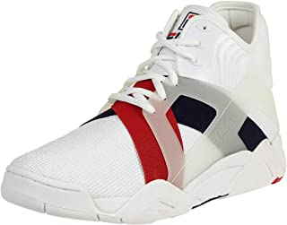 The Cage 17 Logo Men High Sneakers white