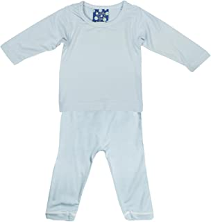 KicKee Pants Basic Long Sleeve Pajama Set