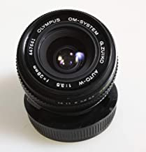 28MM F 3.5 Olympus AUTO-W LENS Great for Micro 4/3RDS Camera W/Original Cap