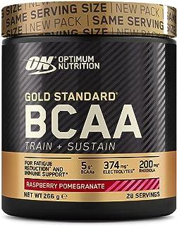 comprar comparacion Optimum Nutrition ON Gold Standard BCAA Polvo, Suplementos Deportivos con Aminoacidos, Vitamina C, Zinc, Magnesio y Electr...