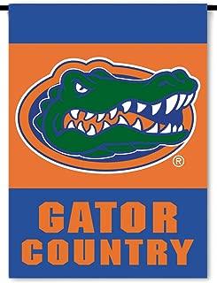 NCAA Florida Gators 2-Sided Country Garden Flag, Team Color