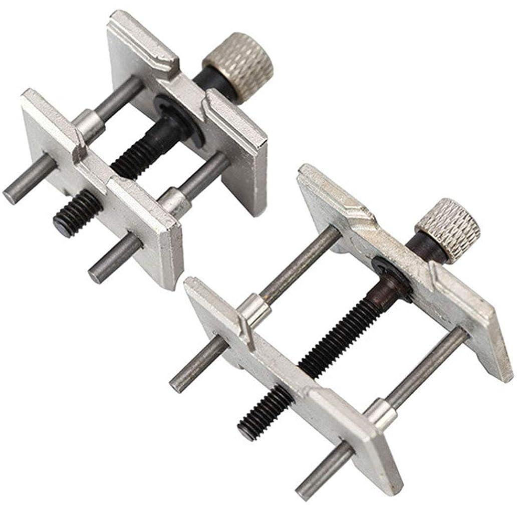 手順予備駐地調節可能な顎耐久性のある時計職人万力ポータブルムーブメントホルダークランプミニ腕時計クランプ