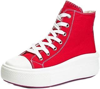 Dames veterschoenen zeildoekschoenen zomer platte schoenen voor dames stoffen schoenen outdoor schoenen 34-39