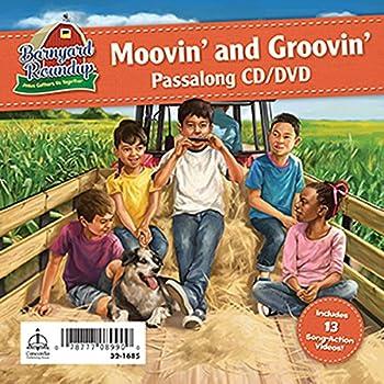 Barnyard Roundup Moovin  and Groovin  Passalong CD & DVD  Barnyard Roundup  Jesus Gathers Us Together