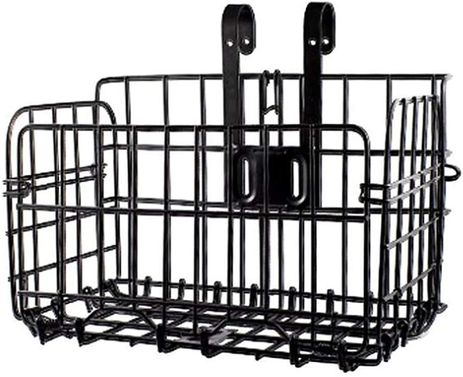 HOUTBY Front Rear Hanging Bike Basket Detachable Folding for Mountain Bicycle Cycling