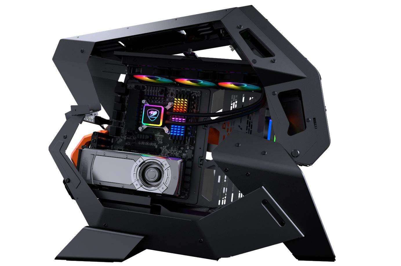 Cougar Conquer 2 All New Ultimate Gaming Caja de torre completa con exclusivo diseño de subchasis desmontable: Amazon.es: Electrónica