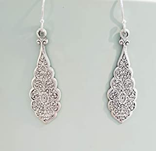 peruvian silver earrings