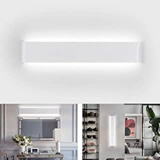 Lámpara de Pared Interior IP44 Aplique Pared led 20W Ketom Apliques de Pared led Blanco Frío 6000K Longitud 60CM 1500ML Para Moderna La Sala De Estar Dormitorio Baño Cocina