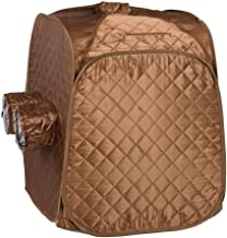 AW Portable Steam Sauna Tent Box Case Fast Fold Tent Sauna Spa Accessory Full Body Personal Home No Steamer