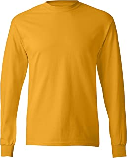 Hanes Mens 6.1 oz. Tagless ComfortSoft Long-Sleeve...