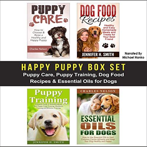 Happy Puppy Box Set audiobook cover art