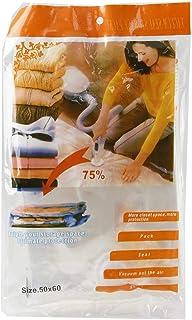 Other Space Saver Bedding Clothes Storage Travel Bag, 50 x 60 cm, Clear, H20.2 x W34.5 x D2.8 cm