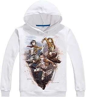 Anime Attack on Titan Cosplay Eren Yeager Jacket Sweatshirt Fleeces Costume Hoodie