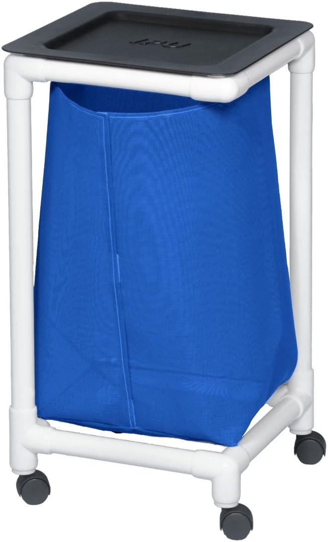 Single Linen Hamper Mesh Blue specialty shop Sale price