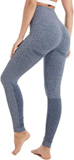 Yoga Pants for Women High Waisted Gym Sport Ombre Seamless Leggings