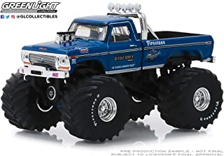 Greenlight 1/64 Kings of Crunch Series 4 - Bigfoot #1 1974 Ford F-250 Monster Truck (Clean Version with 66-Inch Tires) 49040A