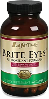 Lifetime Brite Eyes Antioxidant Formula | Supports Dry Eyes, Vision & Eye Health | with Lutein, Zeaxanthin, Bilberry, Vita...