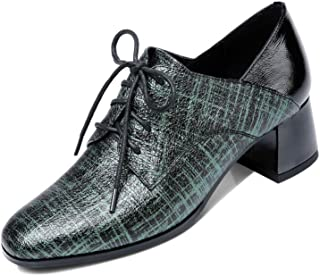 Nine Seven Women's Leather RoundToe Oxford Shoe
