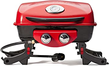 Cuisinart CGG-522 Dual Blaze Gas Grill, Two-Burner, Red