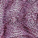 FS005_ 3Pink Leopard Print–Jersey gesponnenes
