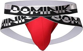 Dominik Mens Cotton Jock Straps Underwear, Five Colours
