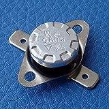 electronics-salon 10pcs KSD301Normalmente Abierto No, 40°C termostato, interruptor de temperatura del disco bimetálico.
