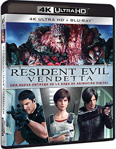 Resident Evil: Vendetta (4K UHD + BD) [Blu-ray]