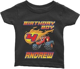 Personalize Blaze Birthday Shirt
