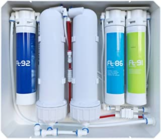 AORA 1200 GPD Direct Flow Système d'eau potable à osmose inverse sans alimentation