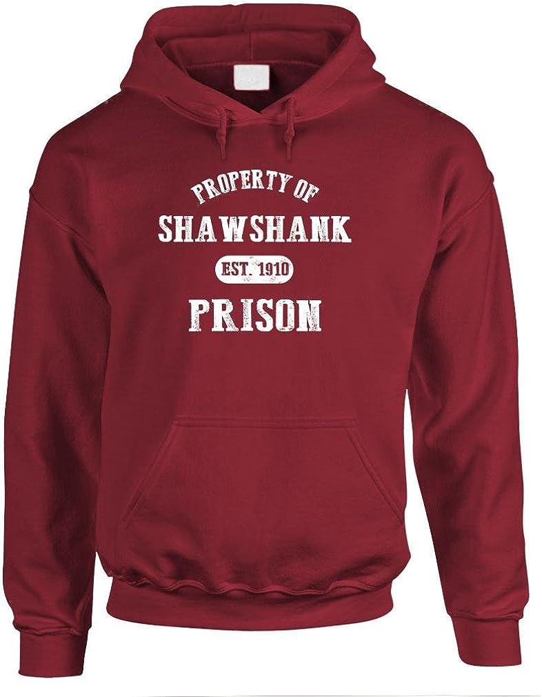SHAWSHANK PRISON PROPERTY king Bargain sale Max 48% OFF movie - Mens Pullover Hoodi retro