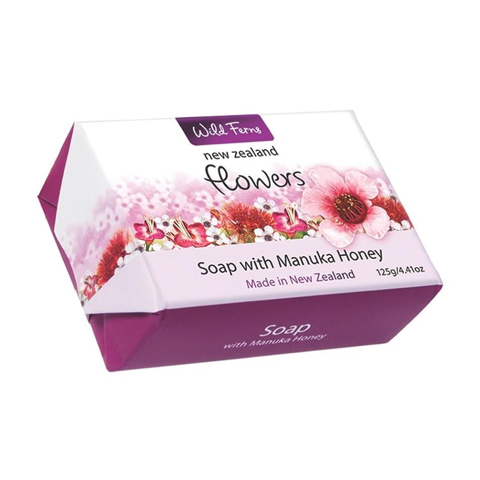 使い込むミトン令状Flowers Soap with Manuka Honey 125g