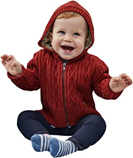 Baby Boy Hooded Cardigan Jacket Two Colors Cool Design for Baby Boy