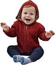 PETIT CLAN Baby Boy Hooded Cardigan Jacket Two Colors Cool Design for Baby Boy