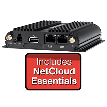 CradlePoint IBR650B-LP4 Router (without WiFi) - NetCloud Essentials and 24x7 Support for 1 Year