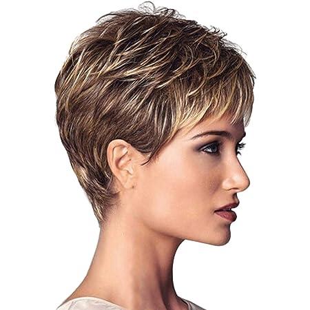 Haare damen blonde kurze Kurze Blonde