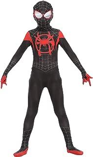 ugoccam Superhero Kids Bodysuit Zentai Suit Cosplay Jumpsuit Tights