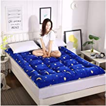 Futon Mattress, Japanese Tatami Mattress, Foldable Bed Mattress Soft Bedroom Mattress Portable Floor Futon Mattress Thick ...