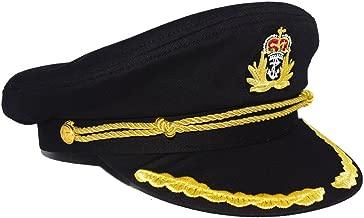 Best black captain's hat Reviews