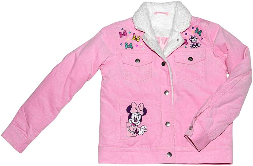 Disney Minnie Mouse Corduroy High quality new excellence Girls for Jacket