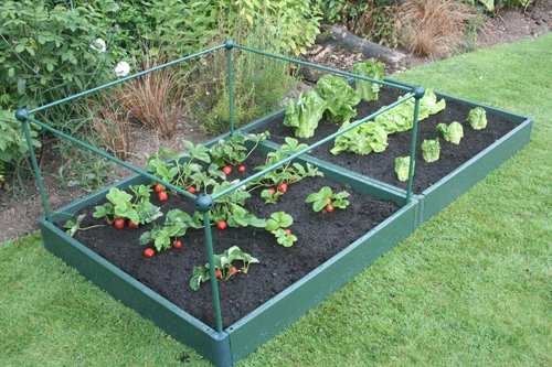 Garden Raised Bed Kit 1 metre x 2 metre, Strong, Weatherproof and Long...