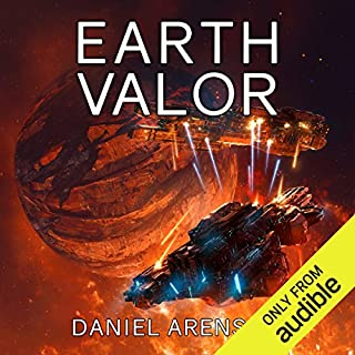 Earth Valor audiobook cover art