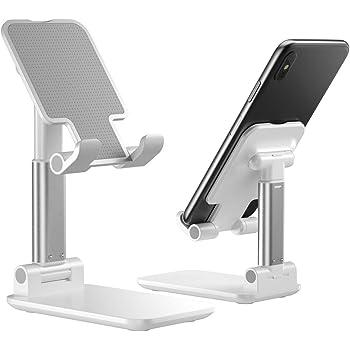 XingKunBMshop Phone Holder Desktop Tablets Phone Stand with Adjustable Angle Design Foldable Desktop Phone Holder Office,Bicycle
