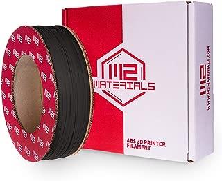 M2 Materials ABS Filament 56ci Stratasys Dimension 1200es/Dimension Elite/Fortus 250mc, Black