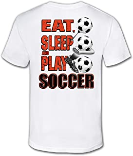 Soccer T-Shirt: Eat Sleep Play Soccer