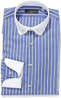 (ガブリエレ パジーニ) Gabriele Pasini ピンホールカラー シャツ 39サイズ LONDON COLLO [並行輸入品]