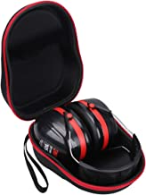 Aproca Hard Carry Travel Case For 3M H10A Peltor Optime 105 Over the Head Earmuff