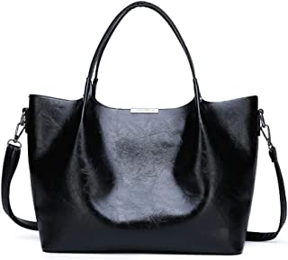 BAIGIO Women's Tote Bag Faux Leather Purse and Handbag Large Hobo Shoulder Bags for Daily and Work